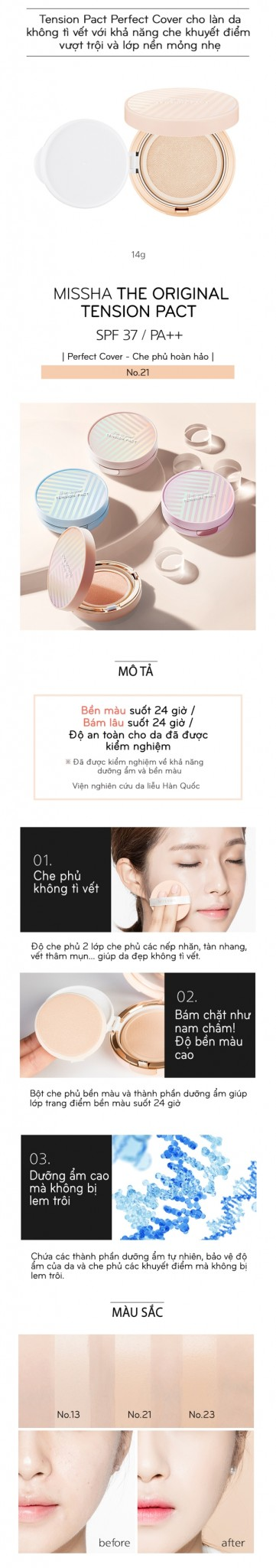 Phan nuoc Missha the original tension pact (8)