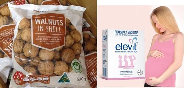 Thuoc Elevit vien uong danh cho ba bau loai 100 vien cua Uc (Bayer Australia) (8)