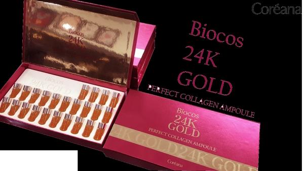 Tinh Chat Biocos 24k Gold Perfect Collagen Ampoule (1)