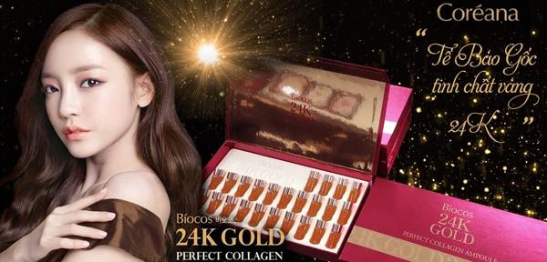 Tinh Chat Biocos 24k Gold Perfect Collagen Ampoule (2)