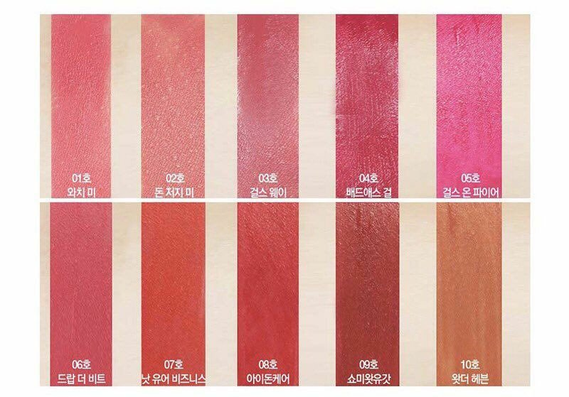 Son kem sieu li It's Skin Life - Color Lip Crush Matte (4)