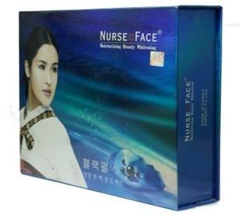 Bo my pham dac tri nam Nurse face xanh Han Quoc (4)