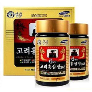 Cao hong sam Han quoc Daehan 240g x2 lo – Korean 6 years red (1)