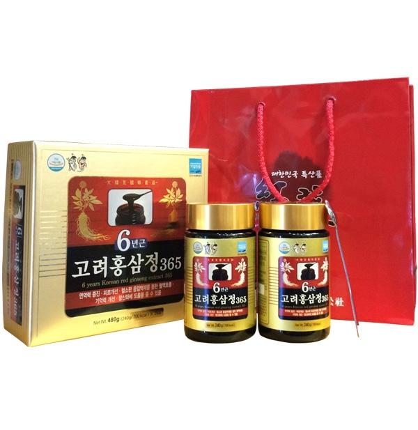 Cao hong sam Han quoc Daehan 240g x2 lo – Korean 6 years red (3)