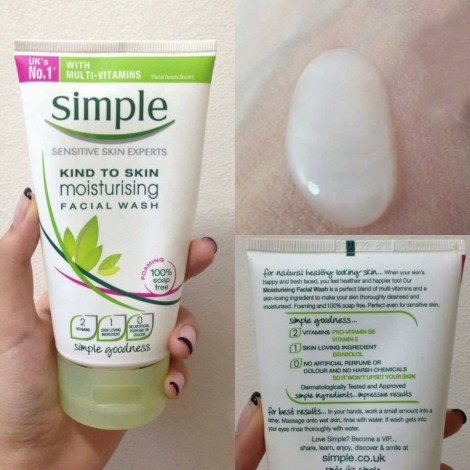 ​Sua rua mat SIMPLE Kind To Skin Moisturising (2)