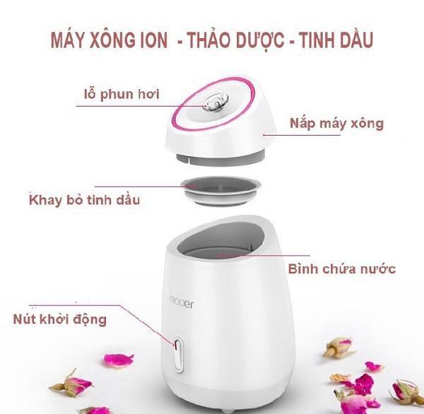 May xong hoi mat MAOER - Xong hoi thao duoc, hoa qua tuoi (3)