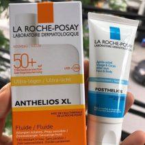 Set Kem Chong Nang Va Nha Nang La Roche Posay Anthelios XL Comfort SPF50+ 50ml (1)