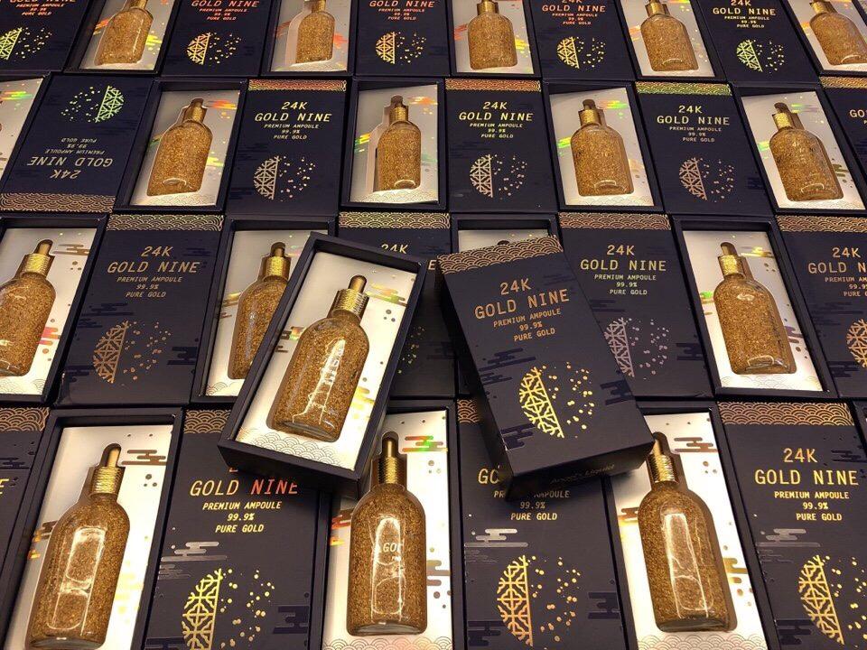 Tinh Chat Vang 24k Gold Nine Premium Ampoule (2)