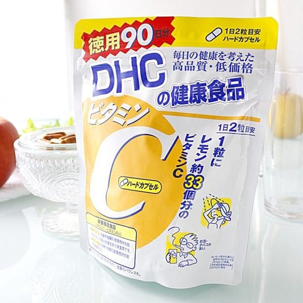 Vien Uong Bo Sung Vitamin C DHC Nhat Ban 120 Vien (8)