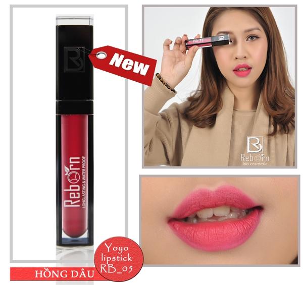 Son kem li Reborn matte lipstick - My (10)