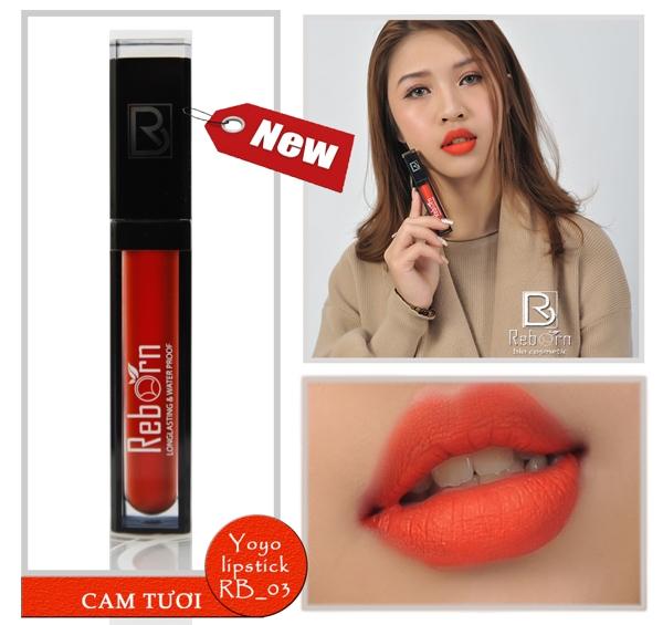 Son kem li Reborn matte lipstick - My (13)