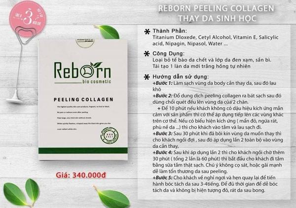 Thay da sinh hoc Reborn Peeling Collagen (1)