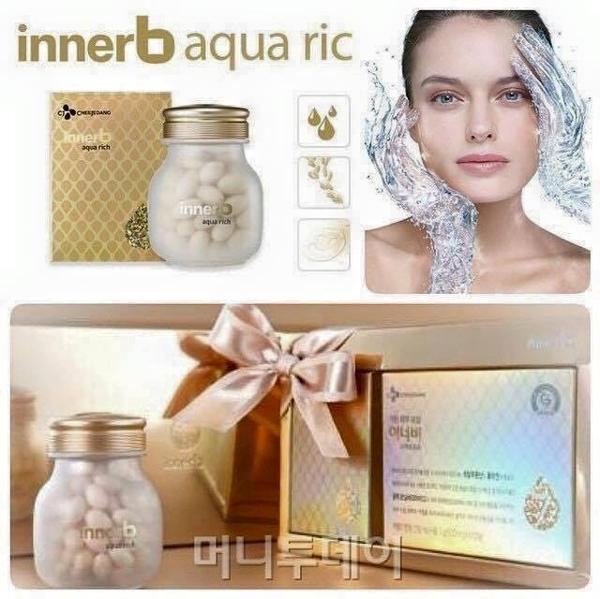 Vien uong cung cap nuoc va collagen Innerb Aqua Rich - Han quoc (4)
