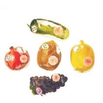 Mat na hoa qua Rainbow fruit farm mask pack