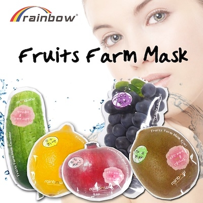 Mat na hoa qua Rainbow fruit farm mask pack - Han quoc (14)