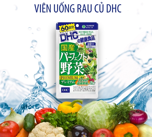 Vien Uong DHC 32 Loai Rau Cu Qua 240 vien - Nhat ban (7)