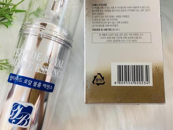 Serum tre hoa lan da Peptide RoYal Volume Esence - Han quoc (7)
