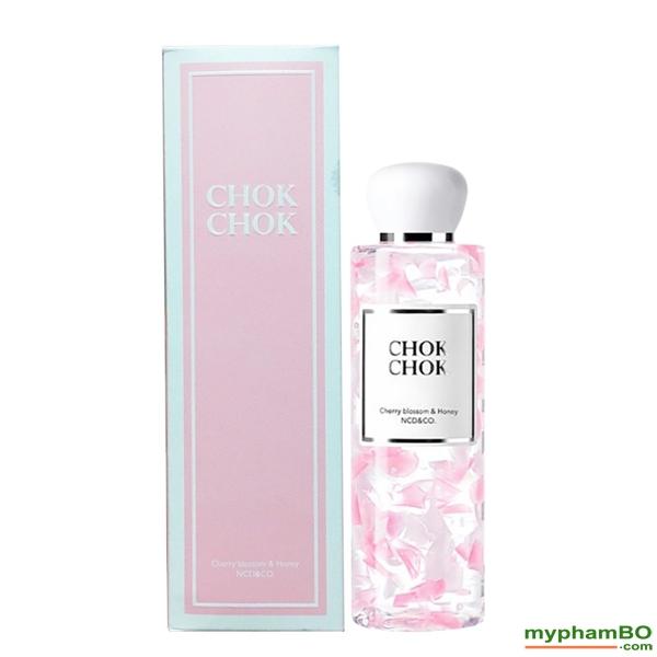 Sua tam Chok Chok Cherry Blossom & Honey 250g Han Quoc (2)