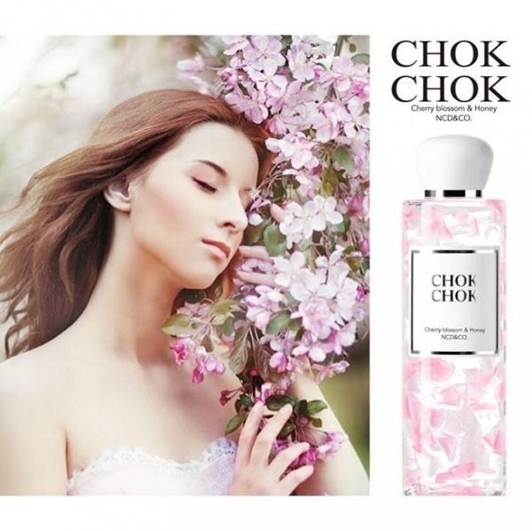 Sua tam Chok Chok Cherry Blossom & Honey 250g Han Quoc (6)