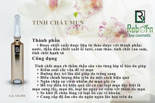 Tinh chat tri mun acne solution Reborn (1)