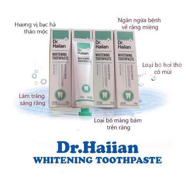 Kem danh trang rang DR Haiian - Han quoc (8)