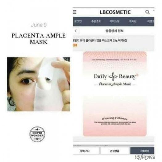 Mat na nhau thai cuu Placenta Ample Mask - Han Quoc (3)