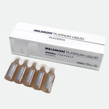 Nuoc uong nhau thai ngua Melsmon Platinum Liquid Placenta - Nhat Ban (5)