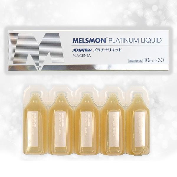 Nuoc uong nhau thai ngua Melsmon Platinum Liquid Placenta - Nhat Ban (9)