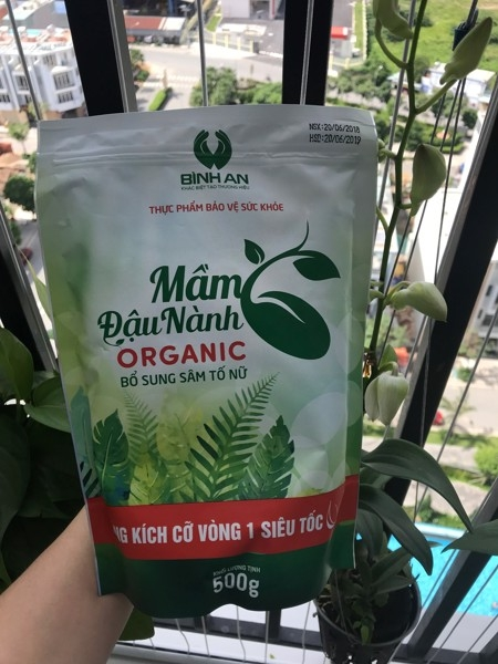 Mam dau nanh Organic Linh Spa - Bo sung sam to nu (10)