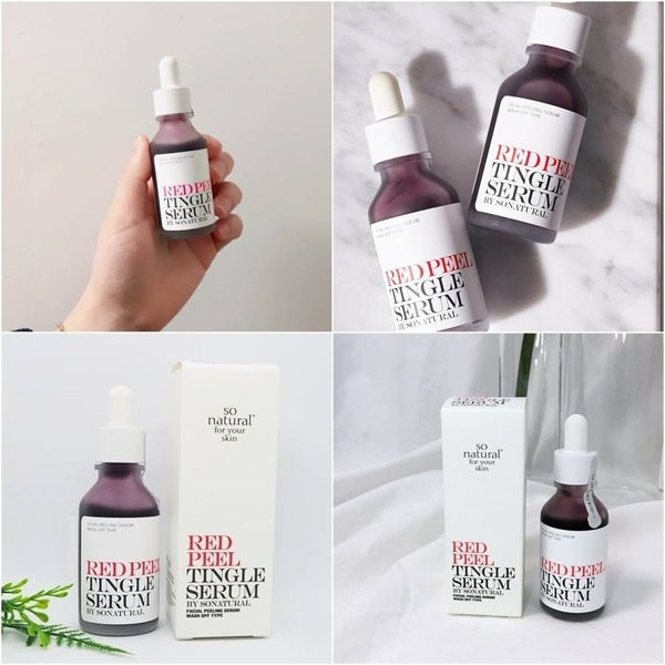 Serum tai tao Red Peel Tingle Serum So natural - Han quoc (4)