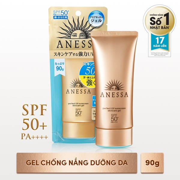 Sua chong Nang Anessa Perfect UV 60ml - Nhat ban Sunscreen Skincare Milk SPF50+PA+++ (5)