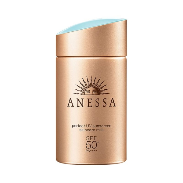Sua chong Nang Anessa Perfect UV 60ml - Nhat ban Sunscreen Skincare Milk SPF50+PA+++ (6)