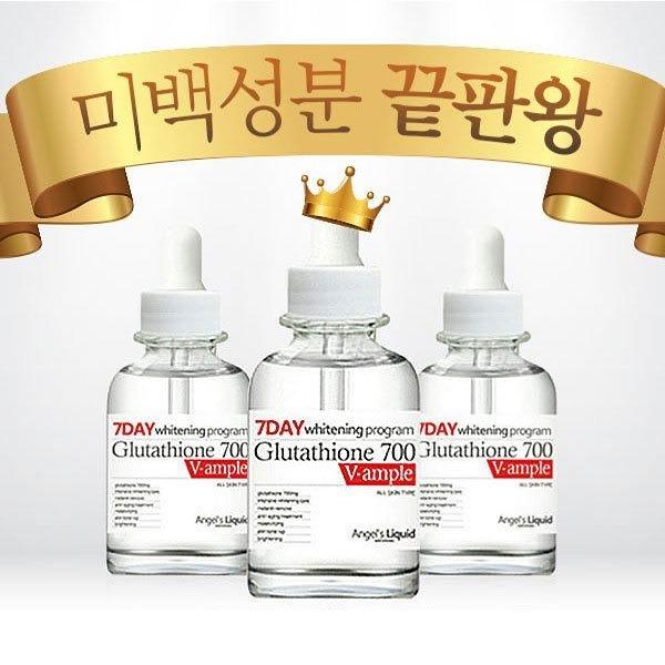 Huyet thanh trang da 7day Whitening Program Glutathione 700 V-ample (2)