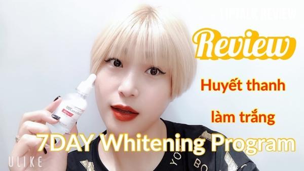 Huyet thanh trang da 7day Whitening Program Glutathione 700 V-ample (7)