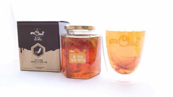 Sam mat ong nghe tay Saffron Mama Chue Han Quoc hu 500g (5)