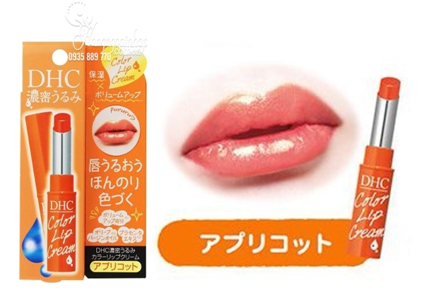 Son duong co mau DHC Color Lip Cream cua Nhat Ban (3)