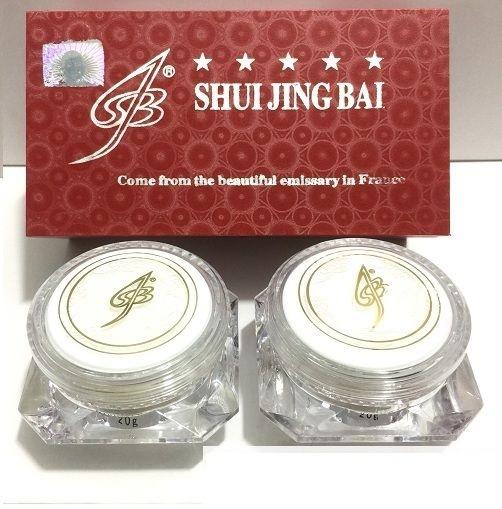 Bo my pham shuijingbai bach thuy tinh 2in1 - Tri nam tan nhang (2)