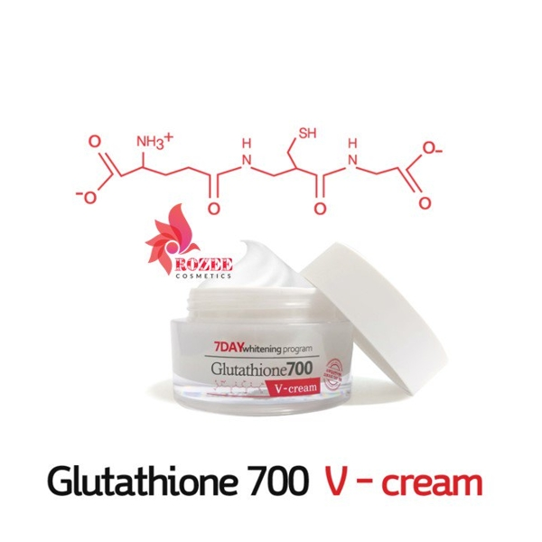 Kem Duong Trang Da 7Day Whitening Program Glutathione 700 V-Cream (1)