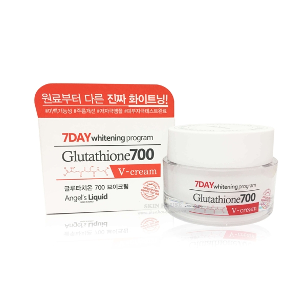 Kem Duong Trang Da 7Day Whitening Program Glutathione 700 V-Cream (7)