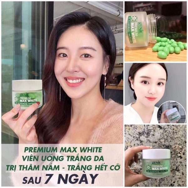 Vien Uong Trang Da Premium Max White Genie - Han quoc (3)