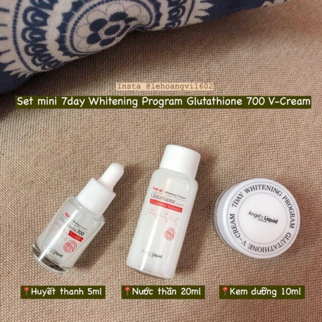 set duong trang da mini 7 day whitening - han quoc (5)