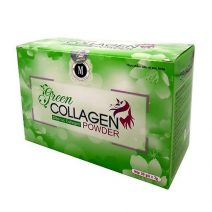 Diep luc Collagen (Green Collagen Powder) - dep da, chong lao hoa, can bang noi tiet (5)