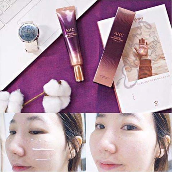 Kem duong da mat AHC Ageless Real Eye Cream For Face (5)