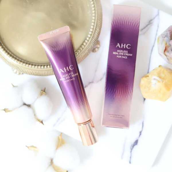 Kem duong da mat AHC Ageless Real Eye Cream For Face (7)