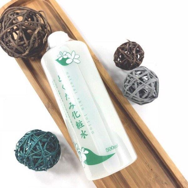 Nuoc hoa hong diep ca Dokudami Natural Skin Lotion Nhat (7)