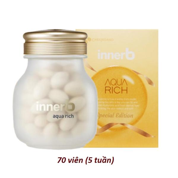 Vien Uong Cap Nuoc Collagen Innerb Aqua Rich 70 vien (1)