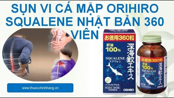 Vien uong sun vi ca map Orihiro Squalene 360 vien (6)