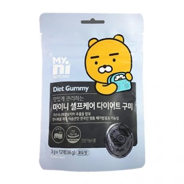 Keo Giam Can Han Quoc Diet Gummy Kakao Friends (1)