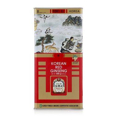 hong sam kho 6 tuoi joongang ginseng hop 300g hop thiec - han quoc (2)