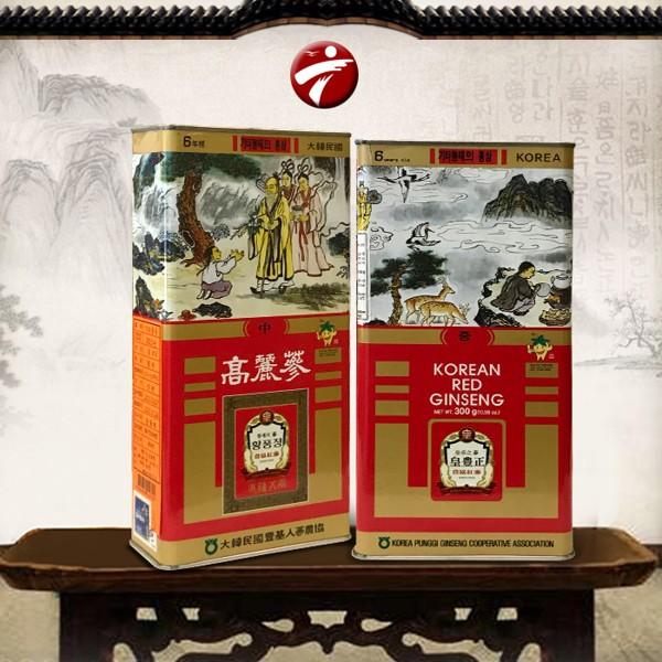 hong sam kho 6 tuoi joongang ginseng hop 300g hop thiec - han quoc (3)